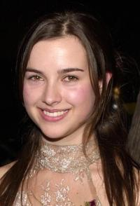 Amelia Warner at the premiere of