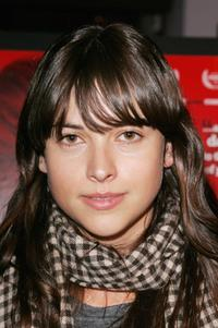 Amelia Warner at the UK premiere of