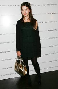 Amelia Warner at the screening of
