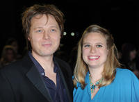 Shaun Dooley and Polly Cameron at the World premiere of