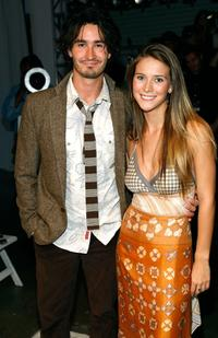 Rik Young and Charlotte Salt at the Candice Held Spring 2008 fashion show during the Mercedes-Benz Fashion Week.