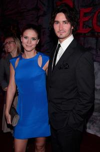 Charlotte Salt and Rik Young at the premiere of
