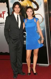 Rik Young and Charlotte Salt at the premiere of