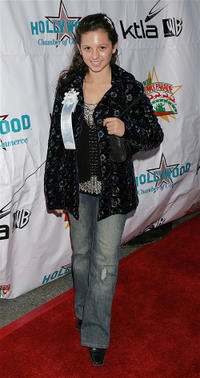 MacKenzie Rosman at the 2005 Hollywood Christmas Parade in California.