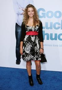 Sasha Pieterse at the Los Angeles premiere of