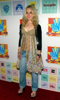 Skyler Shaye at the Los Angeles premiere of