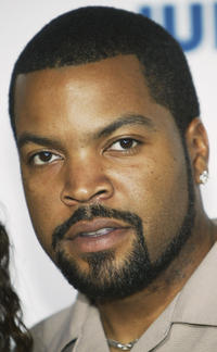 Ice Cube at the film premiere of