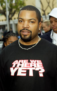 Ice Cube at the premiere of