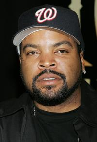 Ice Cube at a signing of his album