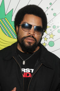 Ice Cube at MTV's Total Request Live in New York City.