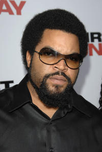 Ice Cube at the world premiere of