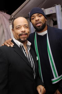 Ice-T and Method Man at the world premiere of