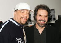 Ice-T and Edward Zwick at the special screening of