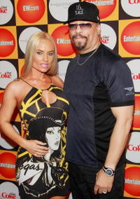 Ice-T and wife model Nicole 'Coco' Austin at the Entertainment Weekly's Annual Must List Party.