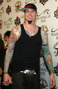 Vanilla Ice at the grand opening of Mario Barths Starlight Tattoo.