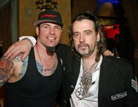 Vanilla Ice and Mario Barth at the grand opening of Mario Barths Starlight Tattoo.
