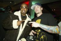 MC Hammer and Vanilla Ice at the WB Television Network's All-Star Winter TCA Party.