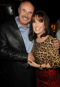 Phil McGraw and Robin McGraw at the Natalie Cole's 60th Birthday Party.