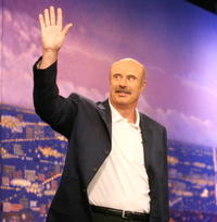 Phil McGraw at the Gina Gershon Appears On The Late Late Show With Craig Ferguson.