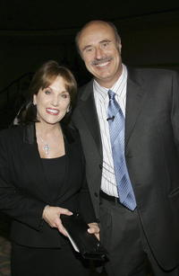 Robin McGraw and Phil McGraw at the Children's Defense Fund's 15th Annual Beat the Odds Awards.