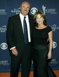 Phil McGraw and Robin McGraw at the 39th Annual Country Music Awards.