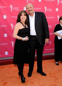 Robin McGraw and Phil McGraw at the 43rd Annual Academy Of Country Music Awards.