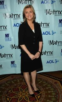 Meredith Vieira at the New York Women in Communications 2007 Matrix Awards.