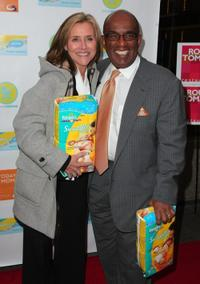 Meredith Vieira and Al Roker at the