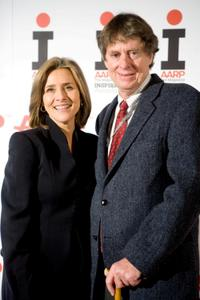 Meredith Vieira and Richard M. Cohen at the 2009 Inspire Awards.
