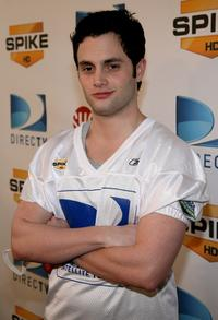Penn Badgley at the DIRECTV's 3rd Annual Celebrity Beach Bowl.