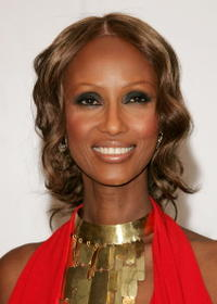 Iman at the 25th Anniversary of the Annual CFDA Fashion Awards.