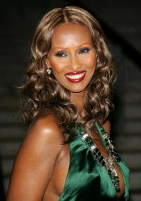 Iman at the Vanity Fair 2007 Tribeca Film Festival party.