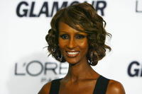 Iman at the Glamour Women Of The Year Awards.