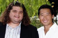 Jorge Garcia and Daniel Dae Kim at the photocall of