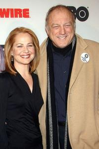 Deirdre Lovejoy and John Doman at the premiere of