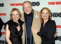 Amy Ryan, John Doman and Deirdre Lovejoy at the premiere of
