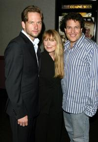 Dallas Roberts, Sissy Spacek and Michael Mayer at the screening of