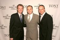 Bob Martin, Danny Burstein and Roy Miller at the Tonys Awards Honor Presenters And Nominees.
