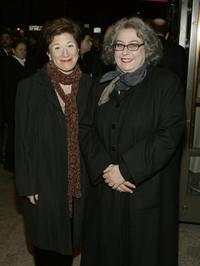 Lisa Kron and Jayne Houdyshell at the opening night of