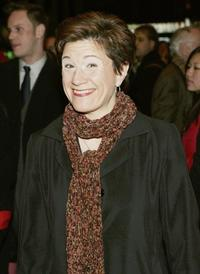 Lisa Kron at the opening night of