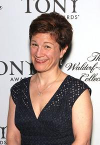 Lisa Kron at the Tony Awards Honor Presenters And Nominees.