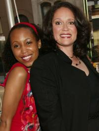 Sydnee Stewart and Iris Little Thomas at the premiere screening of