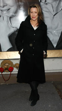 Linda Emond at the Broadway Opening of