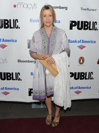 Linda Emond at the 2010 Public Theater Gala in New York.