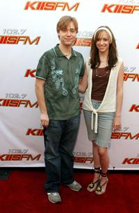 Cameron Bowen and Andrea Bowen at the 102.7 KIIS-FM's Wango Tango 2006 concert.