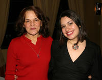Priscilla Lopez and Vanessa Aspillaga at the Latin Media and Entertainment Commission salutes