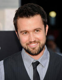 Rob McElhenney at the California premiere of
