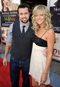 Rob McElhenney and Kaitlin Olson at the California premiere of