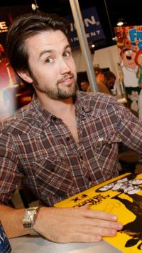 Rob McElhenney at the Comic Con 2008.
