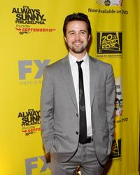 Rob McElhenney at the Season 4 DVD launch party of